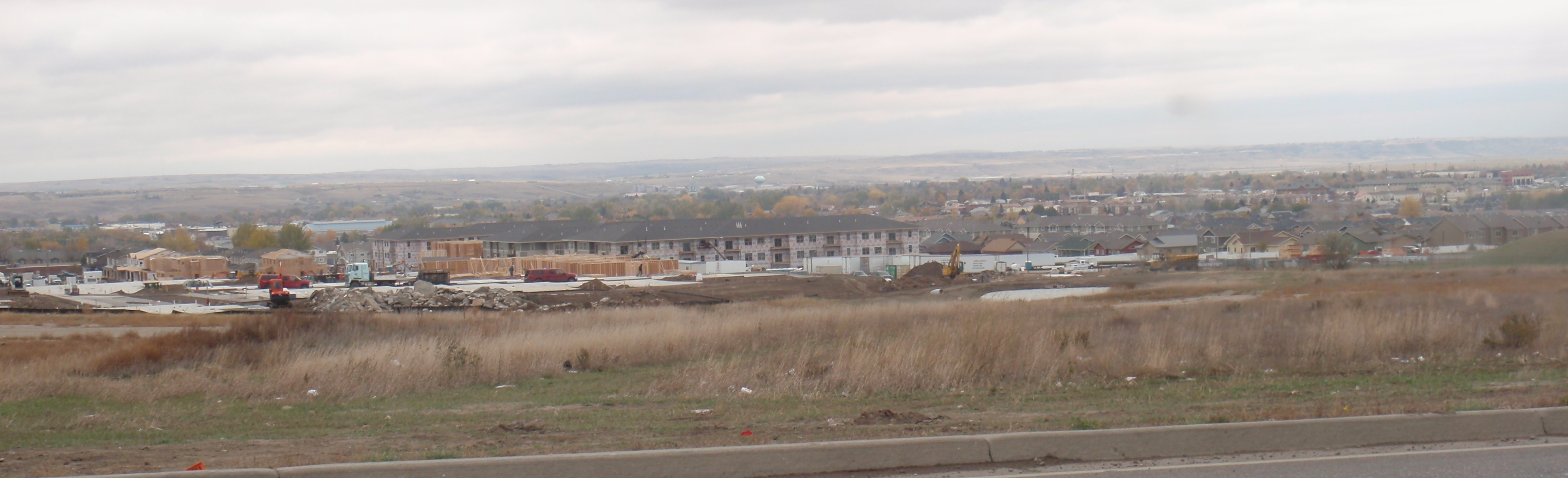 How much new housing will Williston need in the next few years? Photo by James Ulvog.