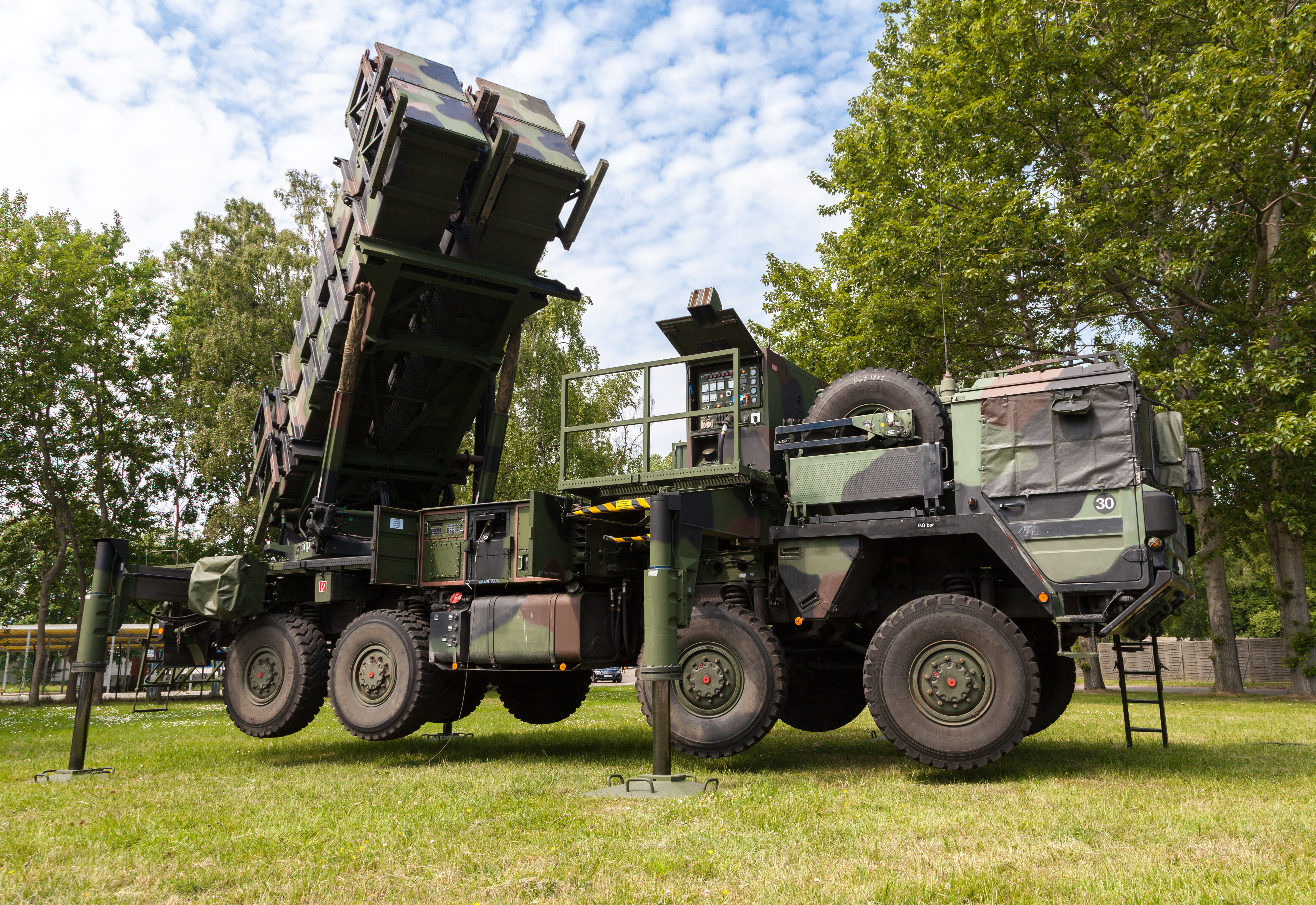 Patriot missile launcher. Photo courtesy of DollarPhotoClub.com