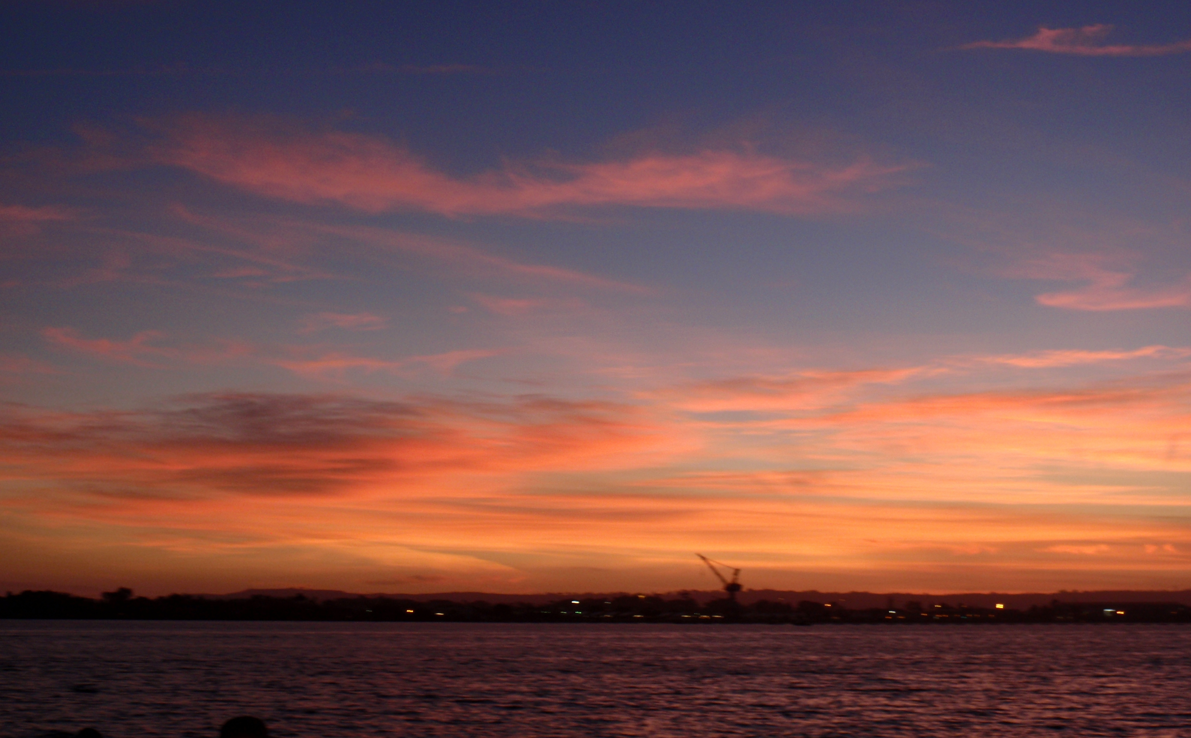 Sunset over San Diego, 10/9/15, photo by James Ulvog.