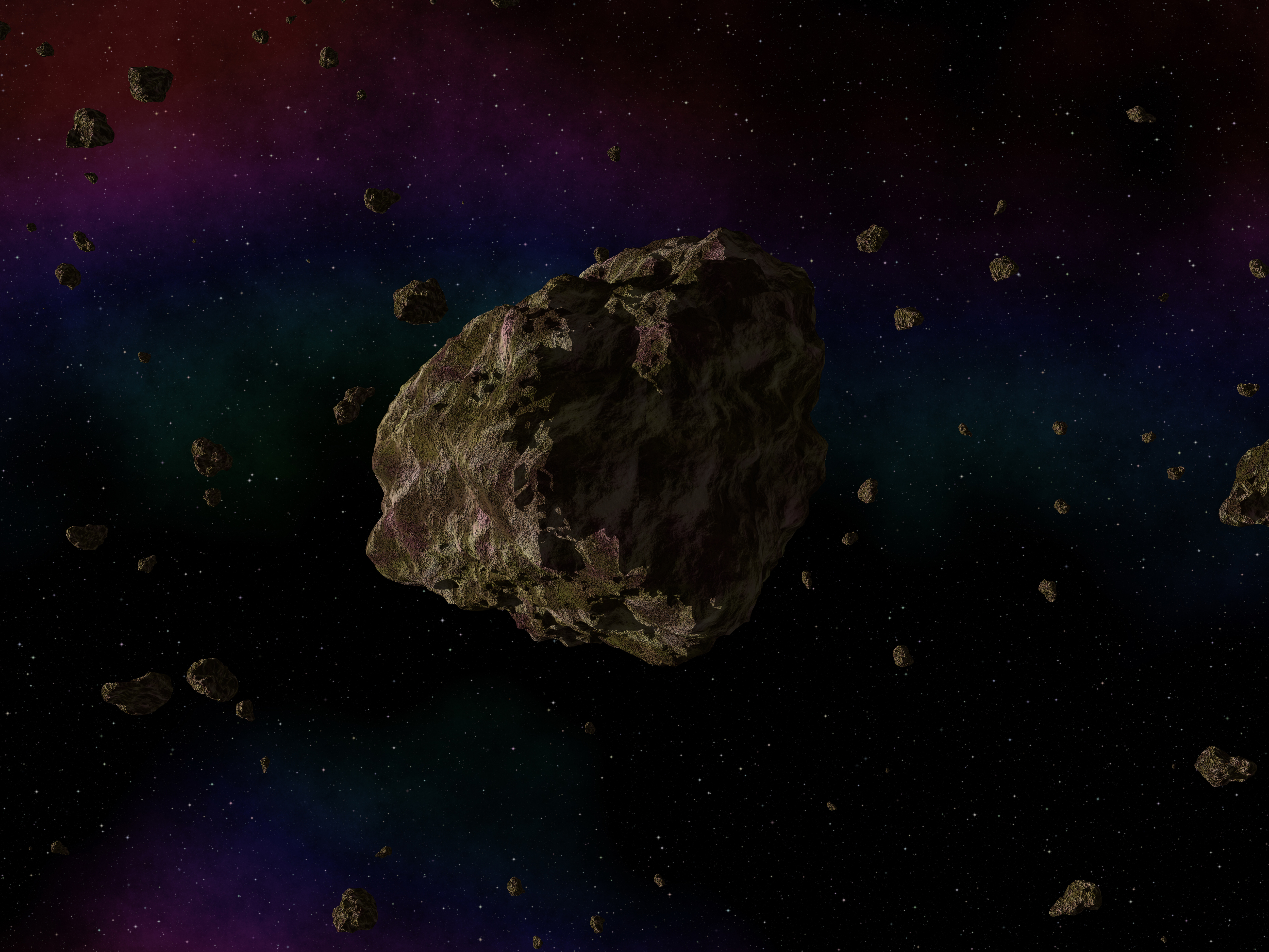 Image of asteroid courtesy of DollarPhotoClub.com