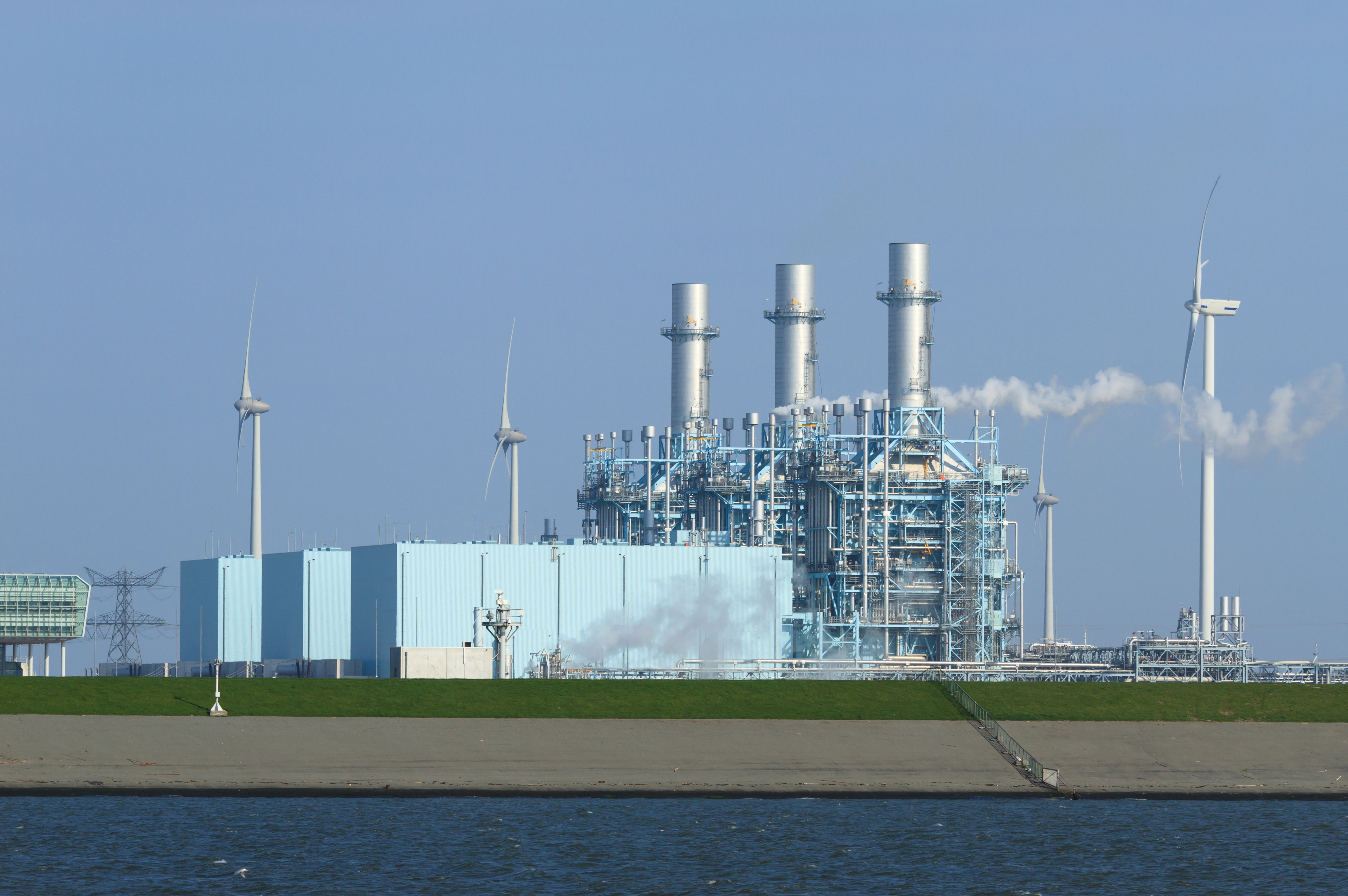 Photo of multi fuel power plant courtesy of DollarPhotoClub.com