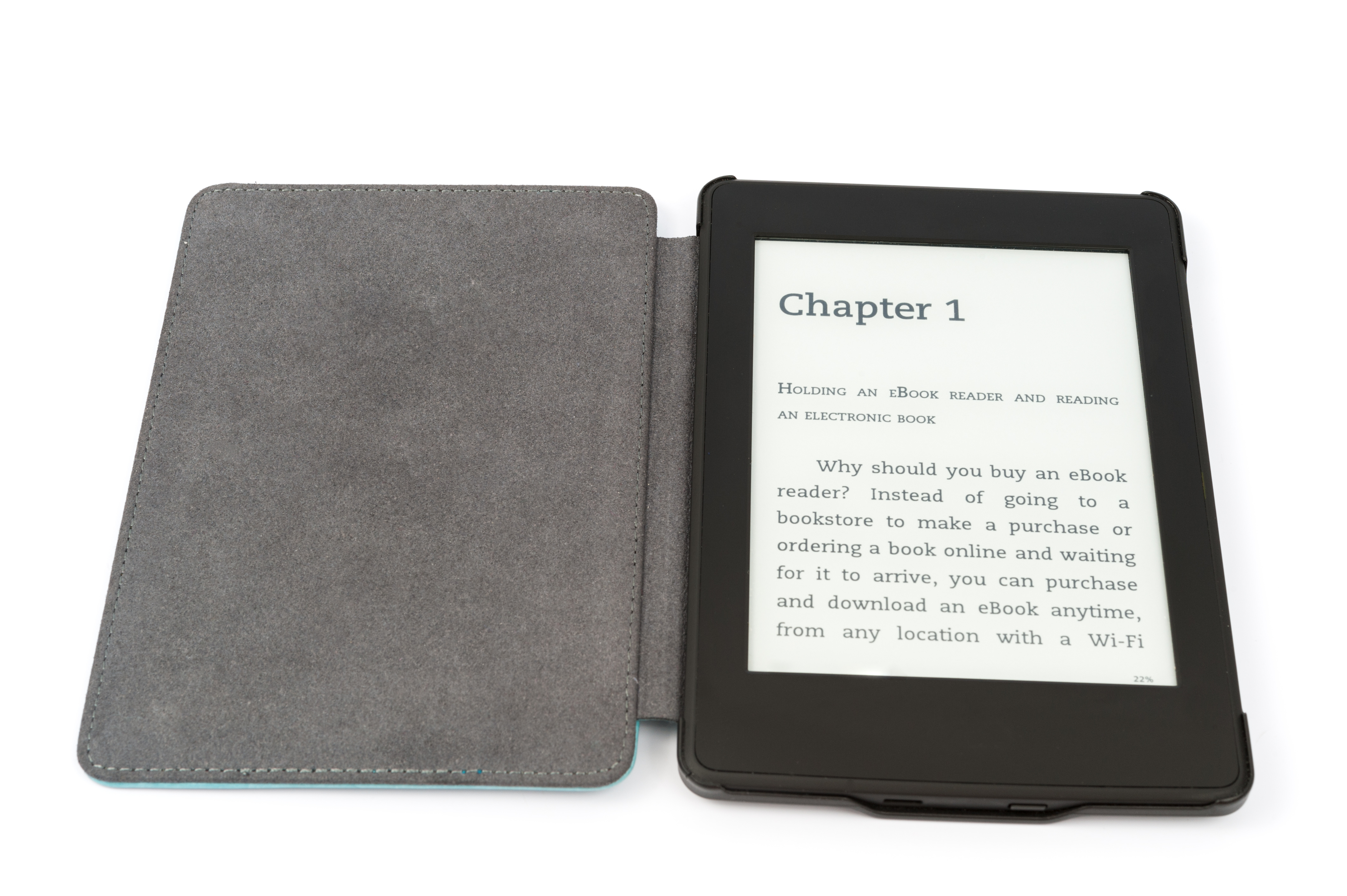 You can carry around hundreds upon hundreds of books inside that little device. Image courtesy of Adobe Stock.