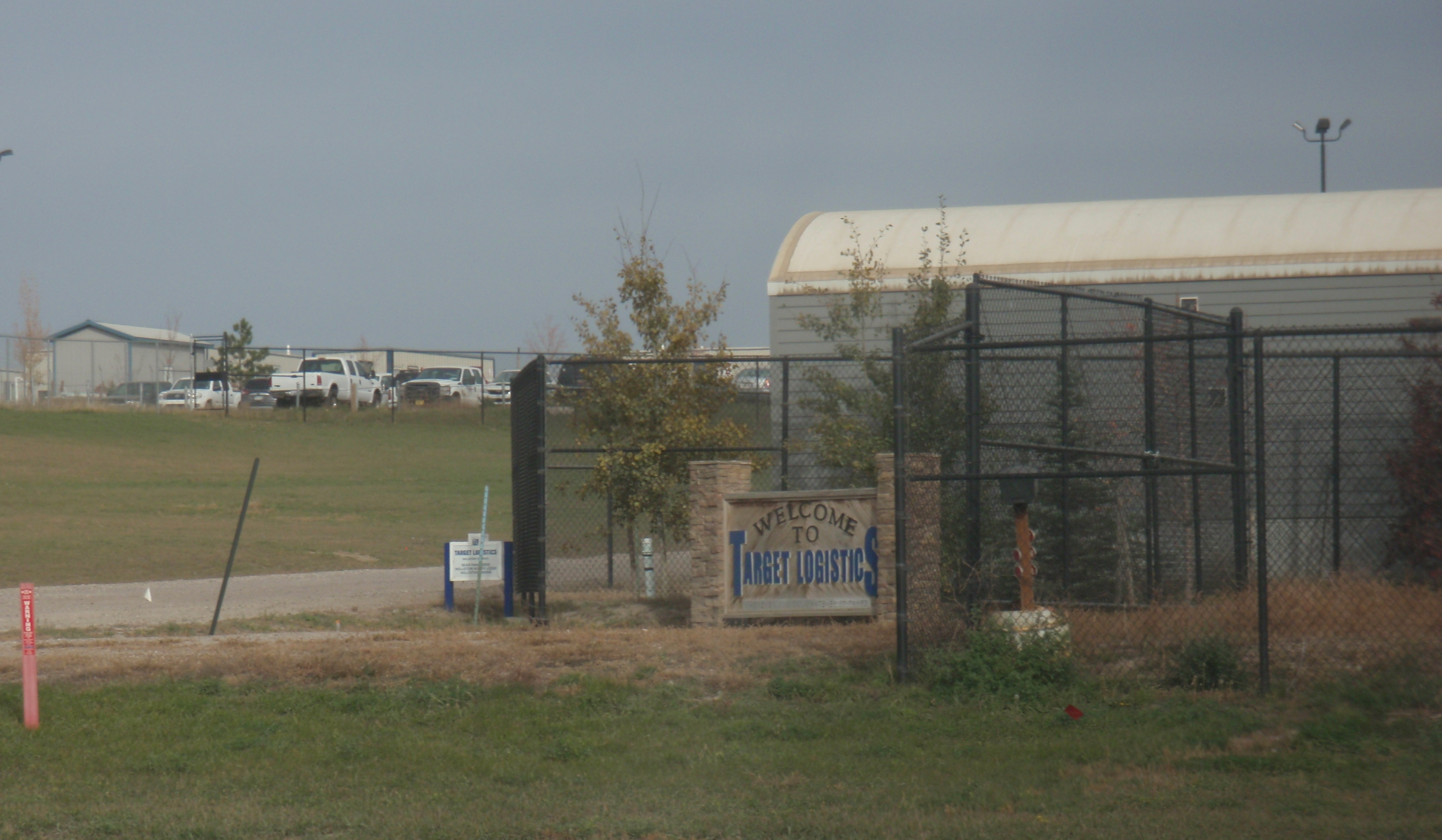 Crew camp on north side of Williston that the city wants to shut down. Photo by James Ulvog.