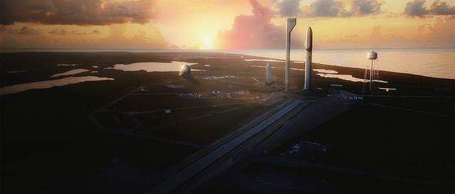 Credit: Flickr, SpaceX has placed this in public domain.