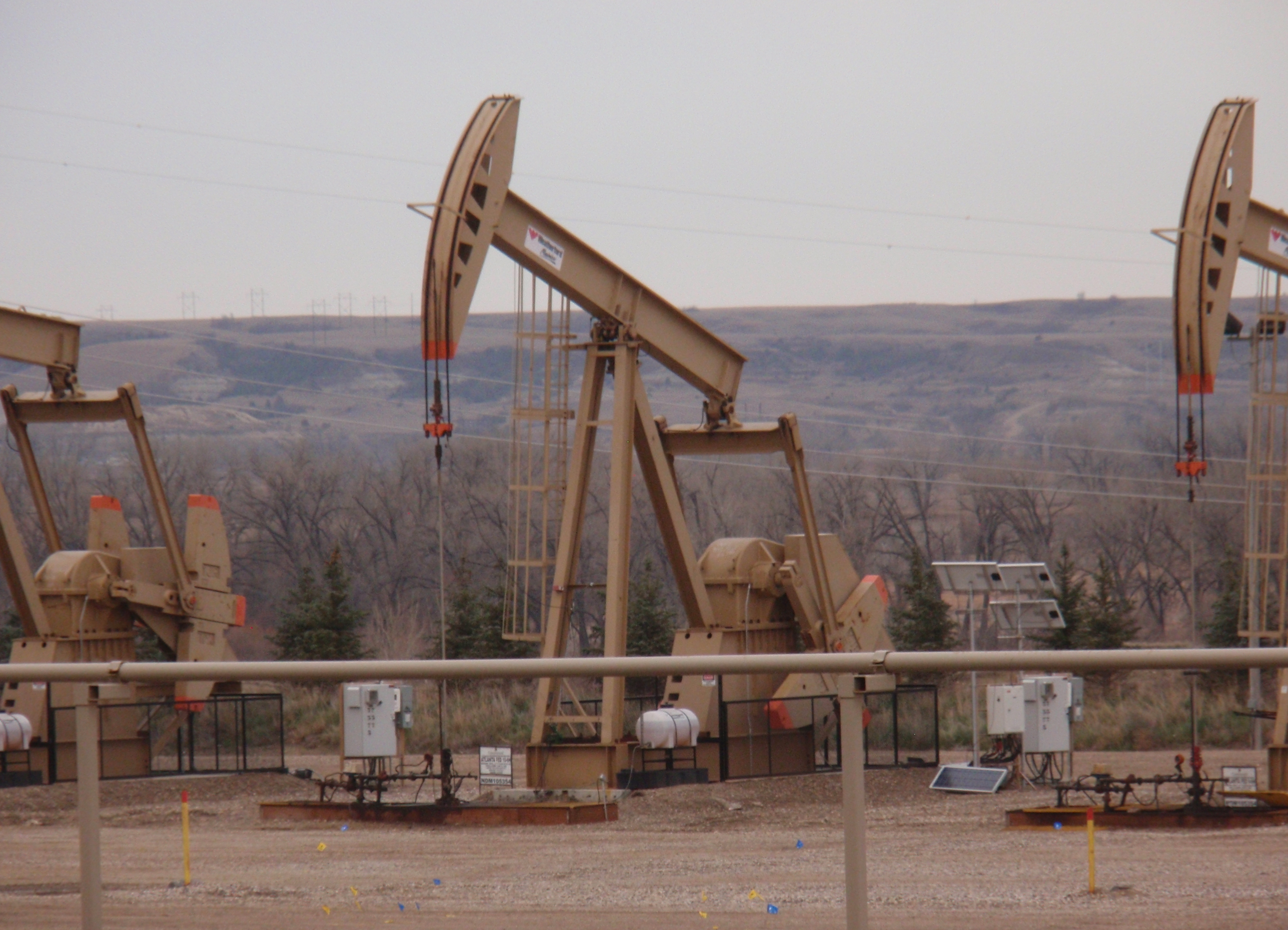 Close up of pump jack. Photo by James Ulvog.